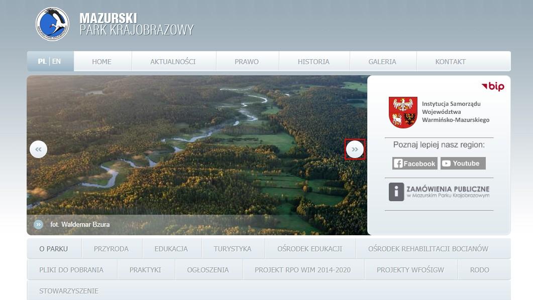 Spotkania on-line z przyrodą: Mazurski Park Krajobrazowy
