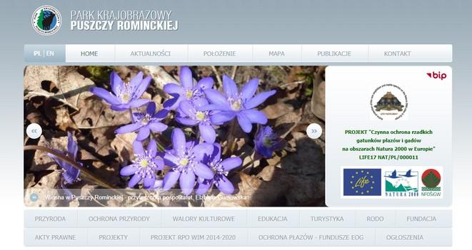 Spotkania on-line z przyrodą: Park Krajobrazowy Puszczy Rominckiej (Polska Tajga, czyli skarby i osobliwości PK Puszczy Rominckiej)
