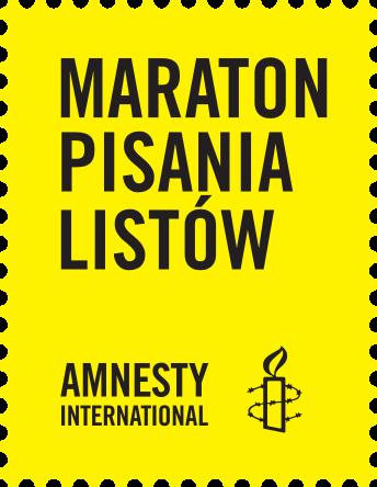 Zapraszamy do organizacji Maratonu Pisania Listów Amnesty International!