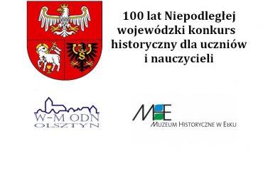 Laureaci konkursu 100 lat Niepodległej