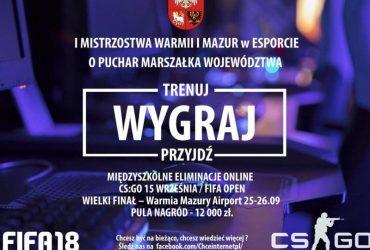 Pierwsze mistrzostwa regionu w e-sporcie