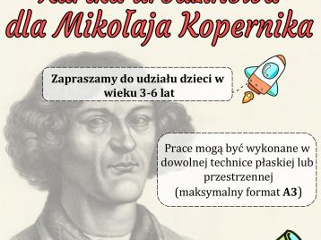 Kartka urodzinowa dla Mikołaja Kopernika