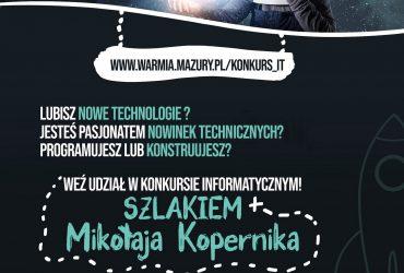 Szlakiem Mikołaja Kopernika – konkurs