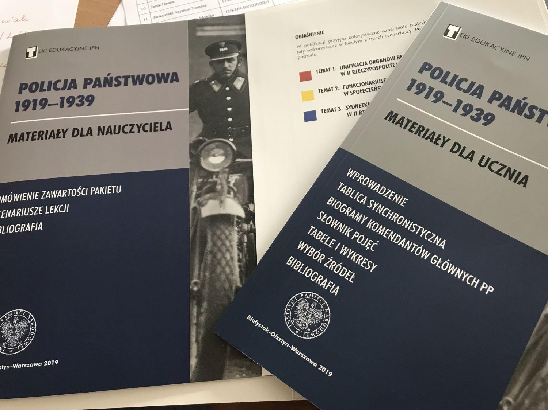 """Teka edukacyjna """"Policja Państwowa 1919-1939"""""""